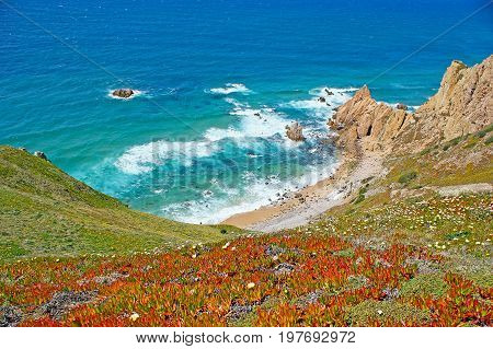 The Beaches At Extreme Point Of Europe