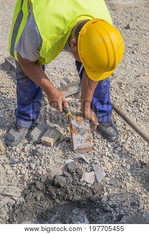 Using Masonry Hammer