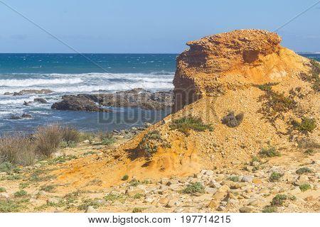 Sand, Rocks And Stones In Vila Nova De Milfontes