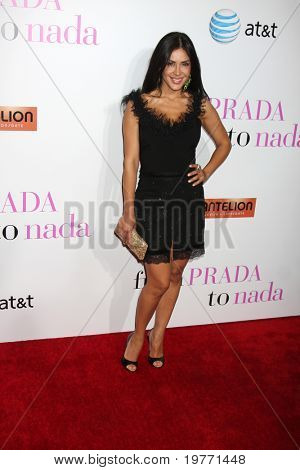 LOS ANGELES - JAN 18:  Carla Ortiz arrives at