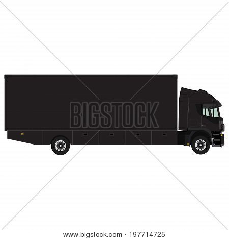 Black Truck Container