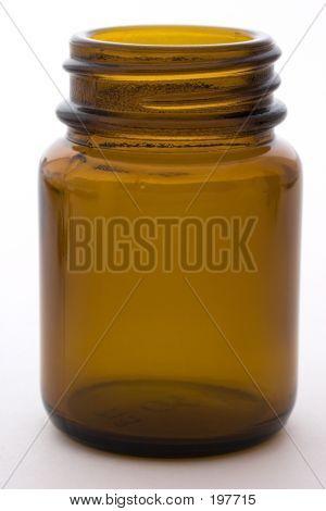 An Empty Pill Bottle