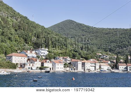 The Lepetani-kamenari Ferry Is The Only Domestic Ferry Service In Montenegro, Passing Through The Ve