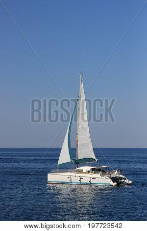 Catamaran Yacht Sailing