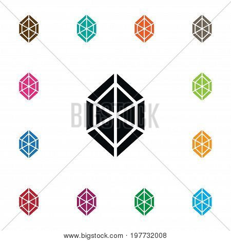 Brilliant Vector Element Can Be Used For Brilliant, Jewel, Precious Design Concept.  Isolated Jewel Icon.