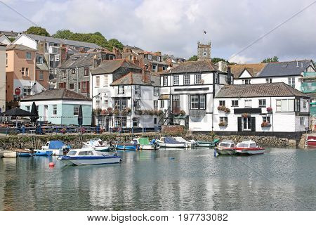 town of Falmouth by the River Fal