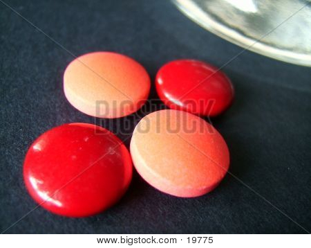 Macro Of Four Tablets