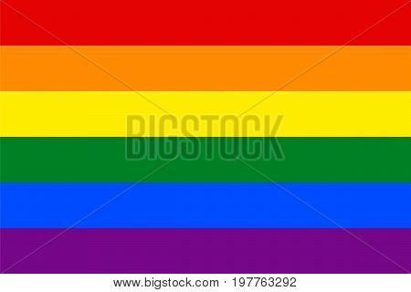 Standard Proportions for Gay Flag, sexual, homosexual