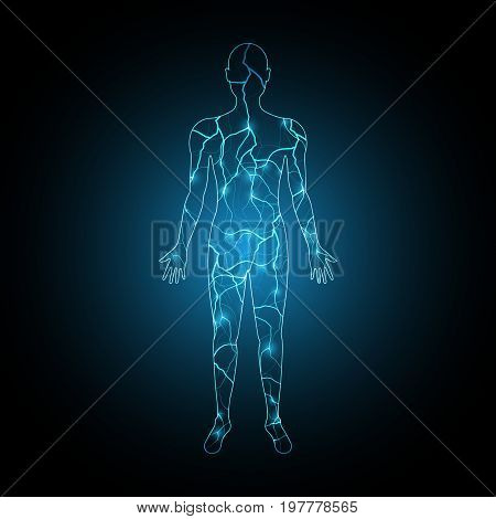 Technology Future Electric Current Human Body