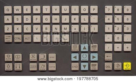 Control Operator Panel Keyboard