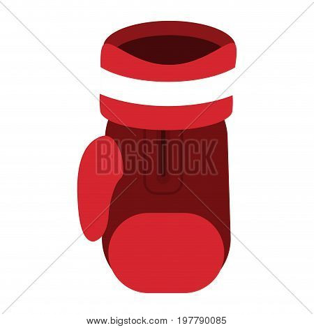 boxing glove sport combat fight champion vector illustration