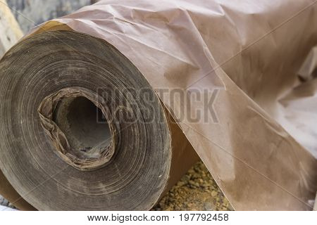 Underlayer Waxed Paper Roll
