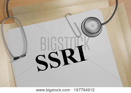 Ssri - Medical Concept