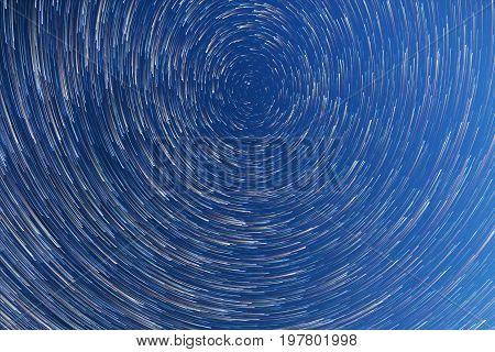 Milky Way. Falling Stars. Comet Mode