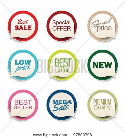 Modern Sale Sticker Collection 1.eps