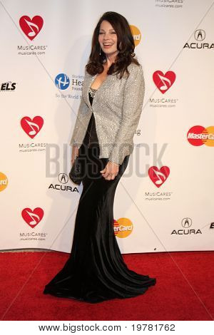 LOS ANGELES - FEB 11:  Fran Drescher arrives at the Muiscares Gala Honoring Barbra Streisand at Convention Center on February 11, 2011 in Los Angeles, CA