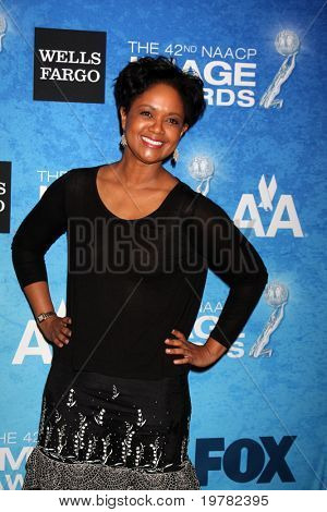LOS ANGELES - FEB 12:  Tonya Lee Williams arrives at the 2011 NAACP Image Awards Nominee Reception at Beverly Hills Hotel on February 12, 2011 in Beverly Hills, CA