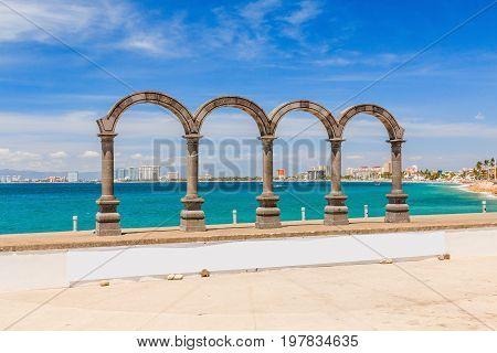 Puerto Vallarta Jalisco Mexico. Los Arcos - Puerto Vallarta Jalisco Mexico.