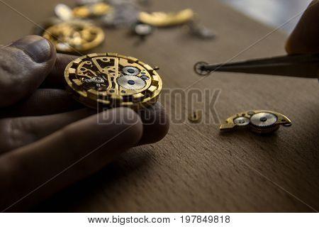 Mechanical Watch Repair