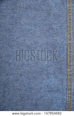 Texture of blue jeans