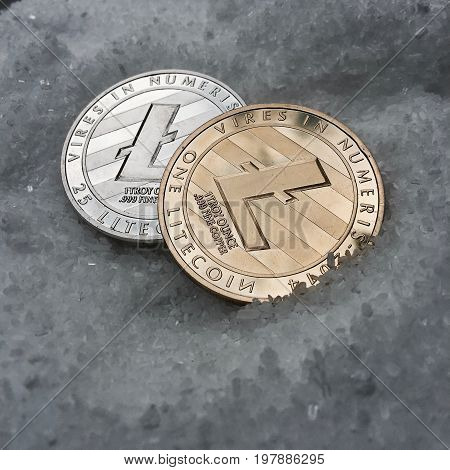 Litecoins - Silver And Gold