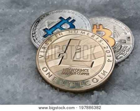 Gold Litecoin And Silver Bitcoins