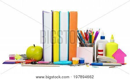 School pen supplies books pencils school supplies back to school