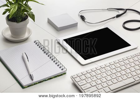 Table digital stethoscope tablet digital tablet it technology new technology