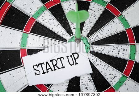 Startup. Startup company (startup or start-up) fast-growing innovative and successfull business.