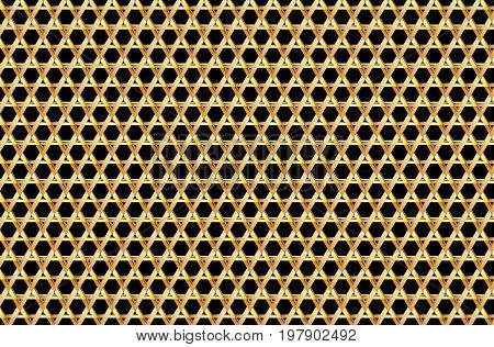 David star background - vector pattern ,