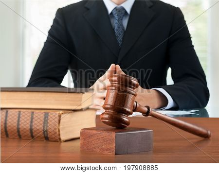 Law books judge lawyer gavel gavel judge person