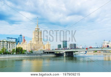 The High Hotel In Moscow