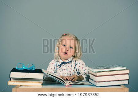 Smart Little Girl