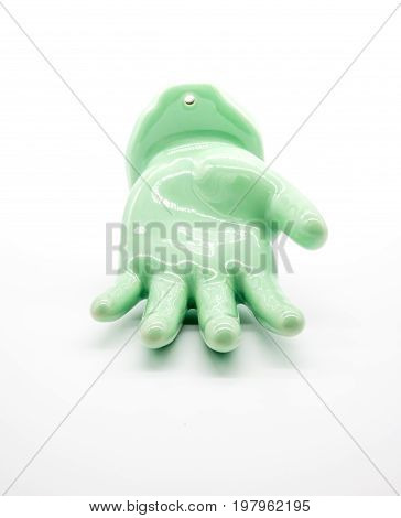 Hand Figure Made Of Jade For Home Decoration