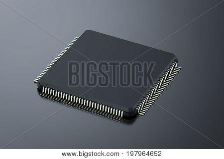 Black Cpu Chip