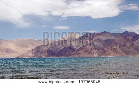 Images of Pangong Lake in Ladakh, Jammu and Kashmir