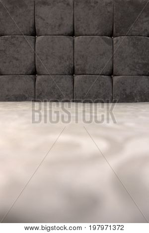 Classic upholstery of the headboard sofa a