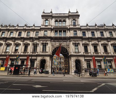 Burlington House In London