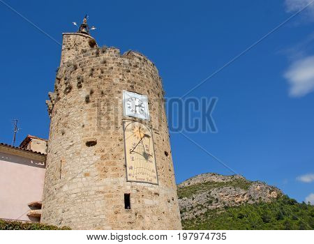 picture of The clocktower in Anduze Gard France