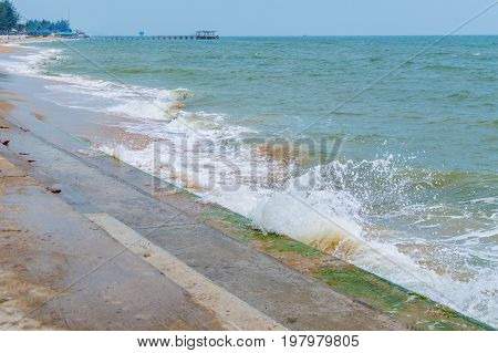 Pak Nam Pran, Pranburi Beach, Prachuap Khiri Khan, Thailand
