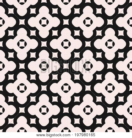 Floral background. Seamless pattern. Abstract endless geometric texture, diagonal grid, repeat tiles. Simple minimalist symmetric background. Design element for prints, home, decor, textile, linens. Arabesque pattern. Ornamental pattern.