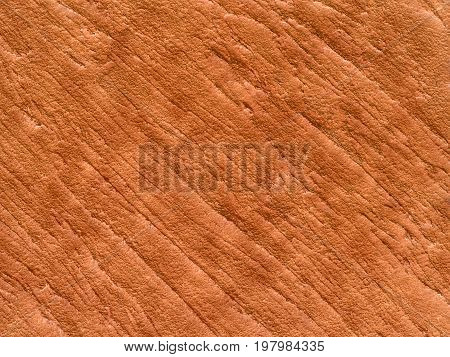 close up detail of red brown stone texture, abstract nature background