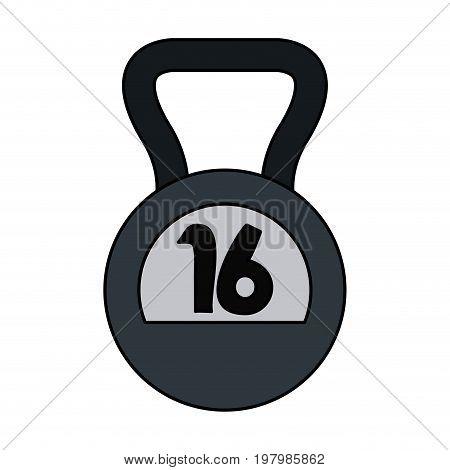 kettlebell 16 icon image vector illustration design