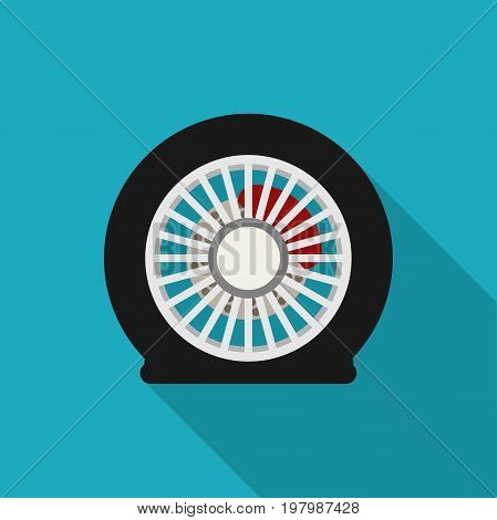 flat tire icon long vector photo free trial bigstock