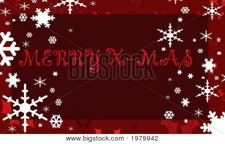 Merry Xmas Red