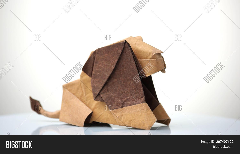 I folded Jo Nakashima's Wolf. Lately I've been really enjoying the ...   964x1500