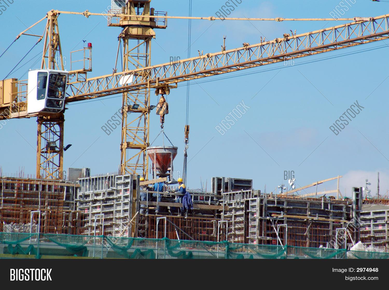 Concrete Works Image & Photo (Free Trial) | Bigstock
