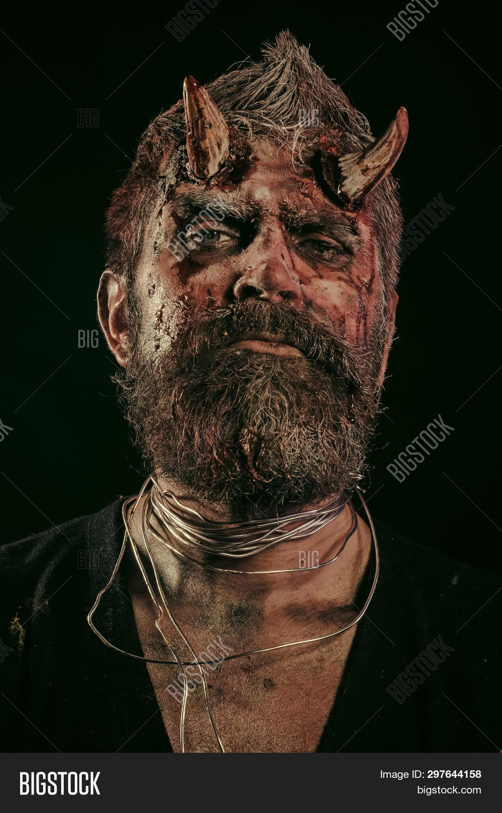 Halloween Maan.Halloween Man Devil On Image Photo Free Trial Bigstock