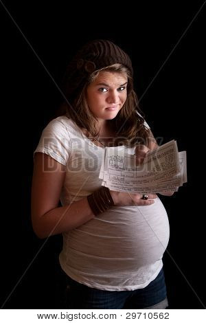 Pregnant Woman On Welfare