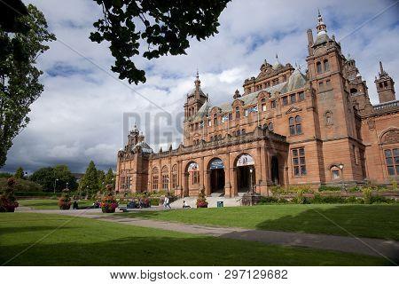 Glasgow, Scotland, 8th September 2013, The Kelvingrove Art Gallery And Museum Near Kelvingrove Park